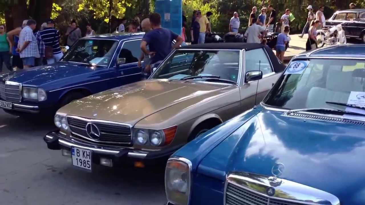 Retro Classic Cars Outfield Exhibition Hd Youtube
