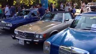 Retro Classic Cars Outfield Exhibition HD