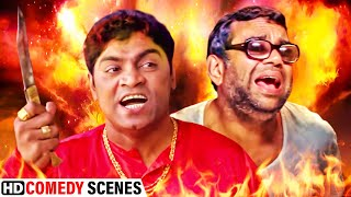 Johny Lever v/s Paresh Rawal | Best Of Comedy Scenes - Phir Hera Pheri - Awara Paagal Deewana