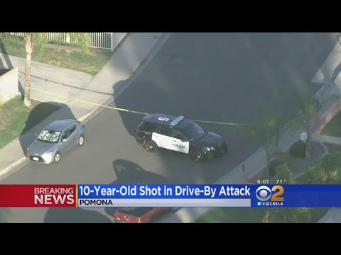 10-Year-Old Shot In Suspected Drive-By In Pomona