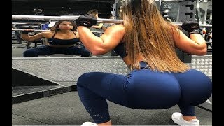 AWESOME WOMEN IN GYM - Female Fitness Motivation HD