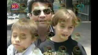 Jorge Salinas reencuentró a sus hijos