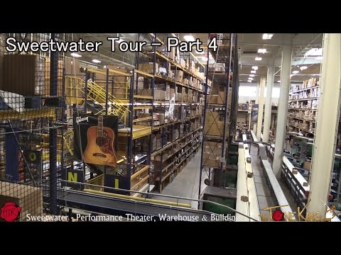 Sweetwater Tour - Pt. 4 - Performance Theater, Warehouse & Building