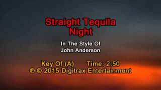 John Anderson - Straight Tequila Night (Backing Track)