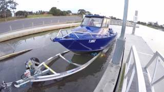 Custom made Quintrex 7600 Yellowfin Walkthrough - Streaker Marine