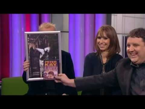 Peter Kay on The One Show (stand-up DVD promo) - 30th November 2012 (annoying Alex)