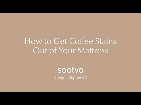 How To Get Coffee Out of Your Mattress | Saatva