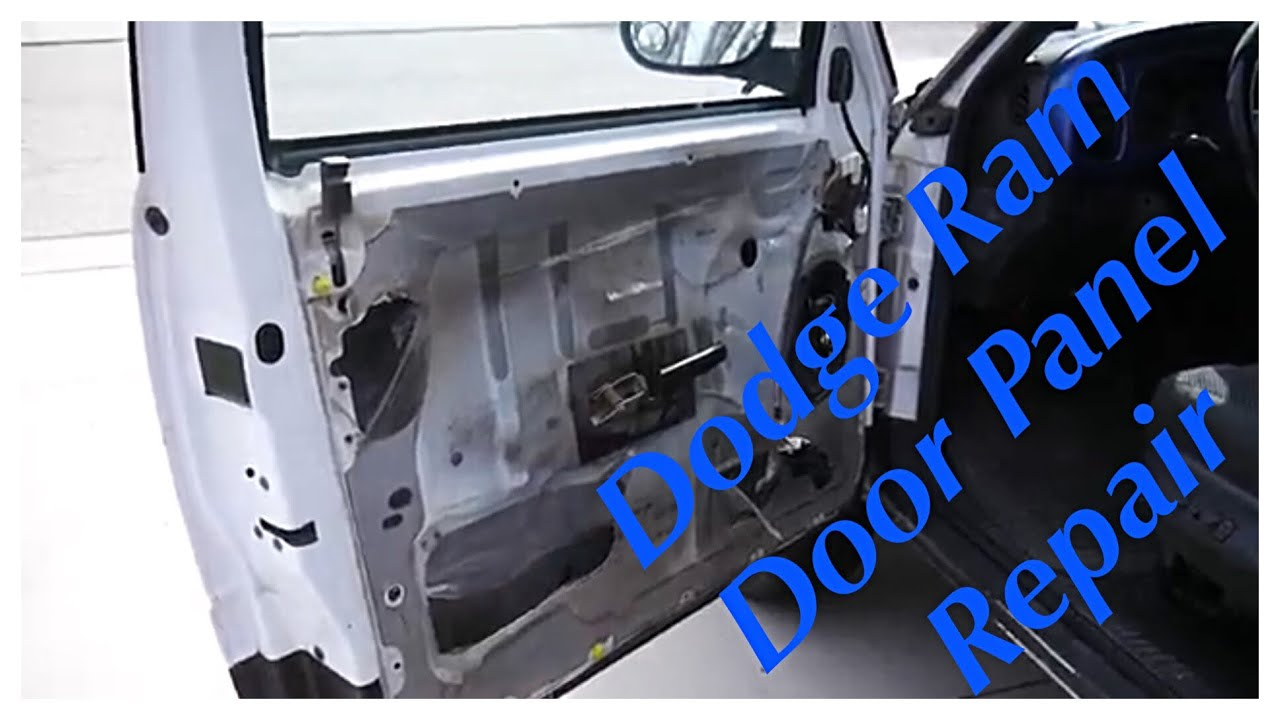 Gen2 Dodge Ram Door Panel Repair And Mounting 1994 1995 1996 1997 1998 1999 2000 2001 Youtube