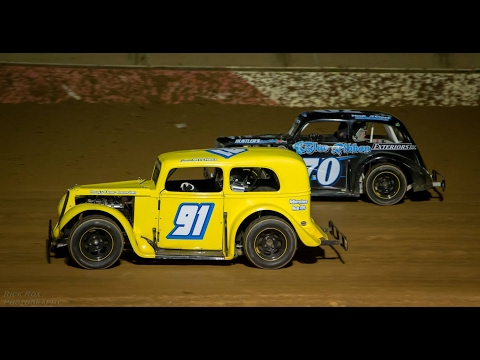 Central PA Legends at Trail-Way Speedway 6/20/14