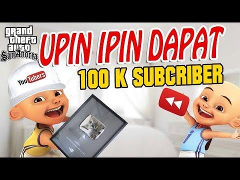 Upin Ipin Episode Special 100 k Maul ibra GTA Lucu