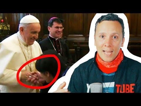 ¿Por qué el papa NO dejó que BESARAN su ANILLO?