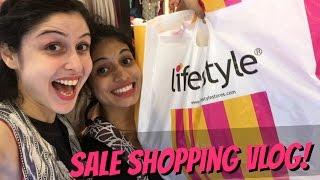 Lifestyle Sale Shopping Vlog!!!