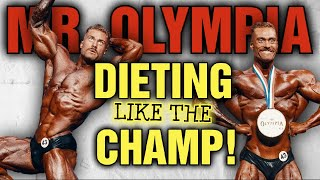 What It Takes to Diet like The Mr Olympia || Chris Bumstead's Pre-Contest Shredding Diet