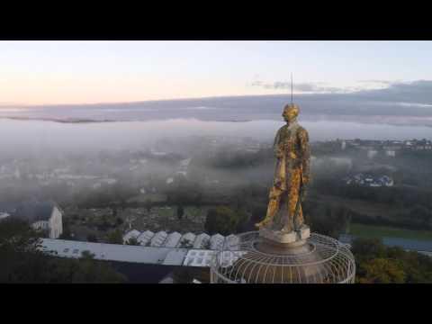 Enniskillen From Above