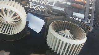 Замена моторчика печки audi  Q7 / ODIS измеряемые величины CCFA  4.2 л. TDI