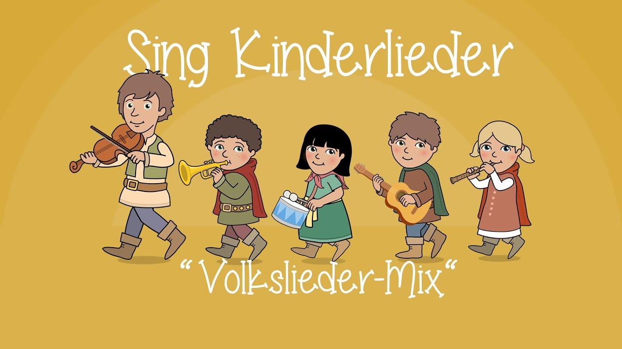 Volkslieder-Mix 1 - Die schönsten Volkslieder | Kinderlieder zum Mitsingen | Sing Kinderlieder