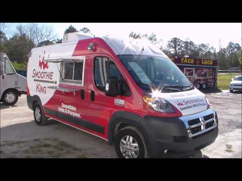 M&R Concessions   Smoothie King ProMaster Food Truck