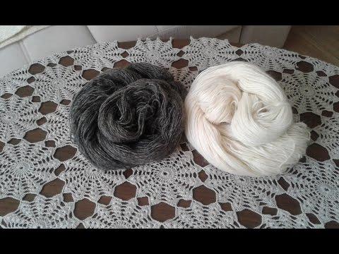 Пуловер - наволочка. Часть 1//  Knitting Pullover // Pullover verbunden Speichen