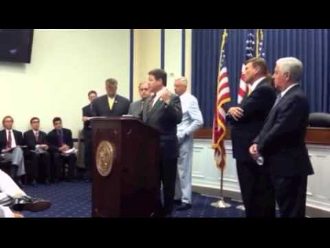 """Shuster addresses the """"European Union Emissions Trading Scheme Prohibition Act"""""""