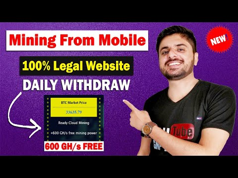 Bitcoin Cloud Mining Website | Daily Withdraw | 100% Legal Website