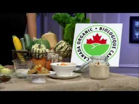 Celebrating Organic Week With New Recipes on CTV Morning Live Atlantic