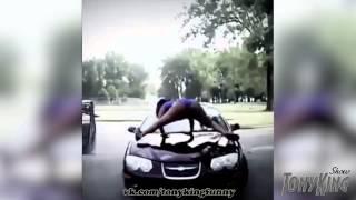 Девочка делает Тверк на Машине