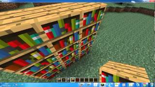 Minecraft - איך להכין דלת סודית פרק 3'