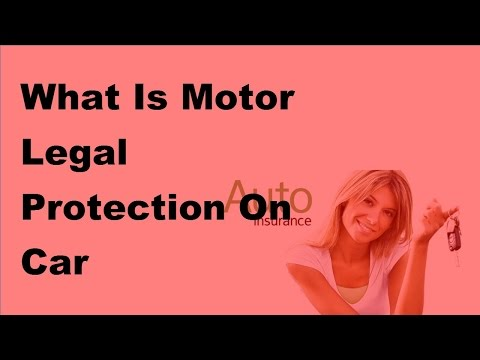 2017 Car Insurance -  Motor Legal Protection Under Car Insurance