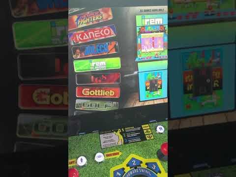 Arcade1up golden tee upgrade 2400 games from J M Arcades