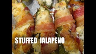 Stuffed Jalapenos Super Appetizer-Jalapeno nadziewane Episode #28