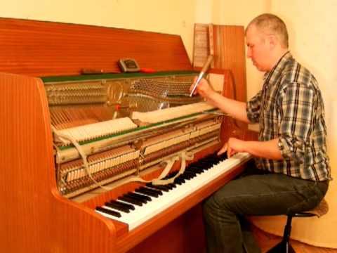Настройка пианино , Piano Tuning