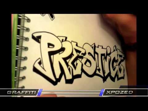 Speed Art ep.11 I Prestige GFX Graffiti