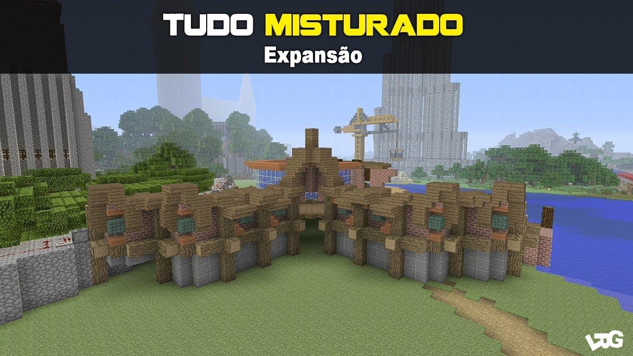42º Episódio 3º Temporada, Tudo Misturado - Minecraft xbox one ( Expansão  Pesque & Pague )