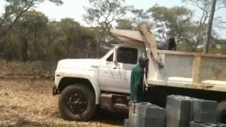 Building a Farm house in Zambia