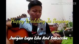 "Cover ""Happy wedding jo sayang"""