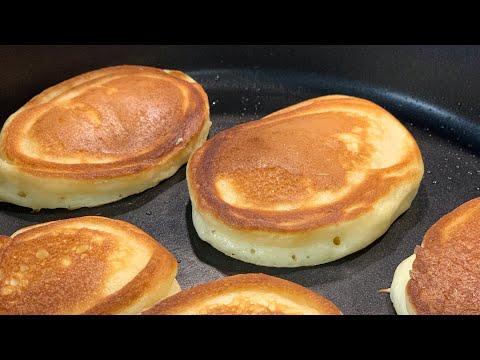 Пышные Оладьи подробный рецепт / Оладушки на сметане / Что приготовить на завтрак