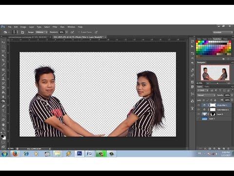Cara Mudah Seleksi Rambut Dengan Photoshop Cs 6