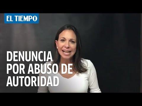 Graves denuncias de María Corina Machado contra régimen de Maduro   EL TIEMPO