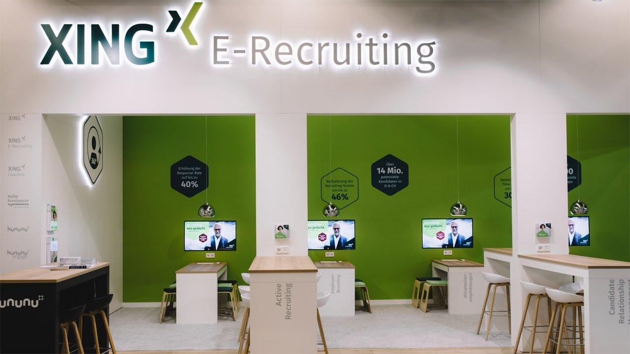XING E Recruiting auf der Zukunft Personal Europe 21