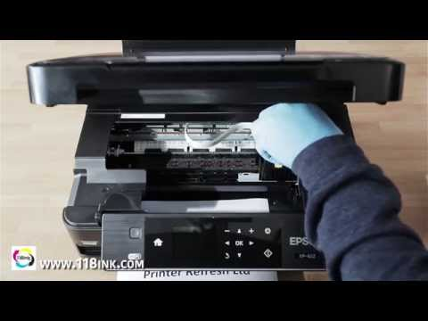 How To Clean Clogged Or Blocked Epson Print Head Nozzles The Easy Way.