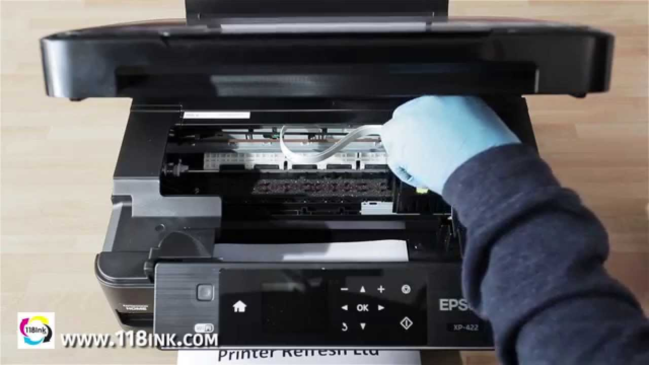 How to clean clogged or blocked Epson print head nozzles the easy way