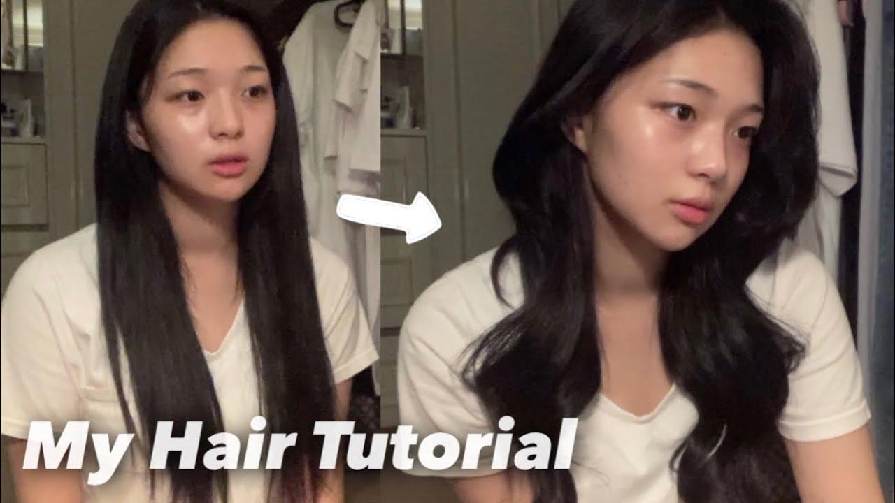 요청이 정~~말 많았던 나의 헤어 스타일링 방법 📂 | 앞머리 볼륨 살리는 방법 | 봉고데기 하는 법