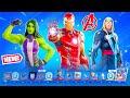 Tier 100 MARVEL Season 4 Battle Pass Fully Unlocked! (Iron Man in Fortnite)