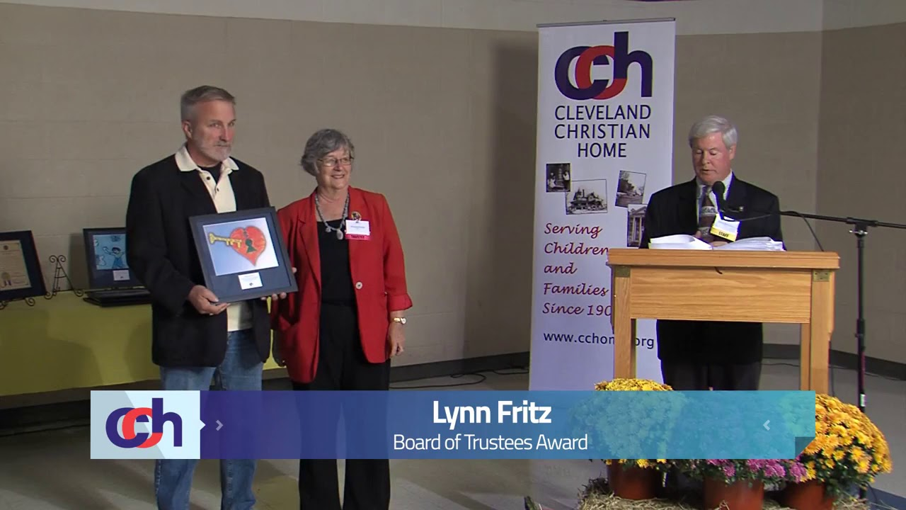 Cleveland Christian Home Honors Lynn Fritz With The 2013 Trustee Service Award
