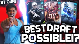 87 OVERALL DRAFT! HIGHEST OVERALL POSSIBLE!? ...