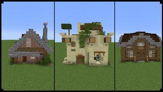 10 10x10 Minecraft Houses!