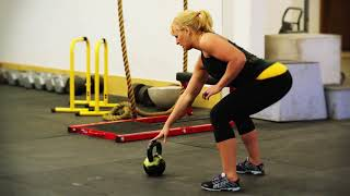 Exercise Demo: One-Armed Kettlebell Clean