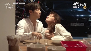 Video [BIMIL SUBS] Tomorrow With You Ep.3 BTS | Full bloom Shin Min Ah Le Je Hoon snack cart date(?) download MP3, 3GP, MP4, WEBM, AVI, FLV Desember 2017