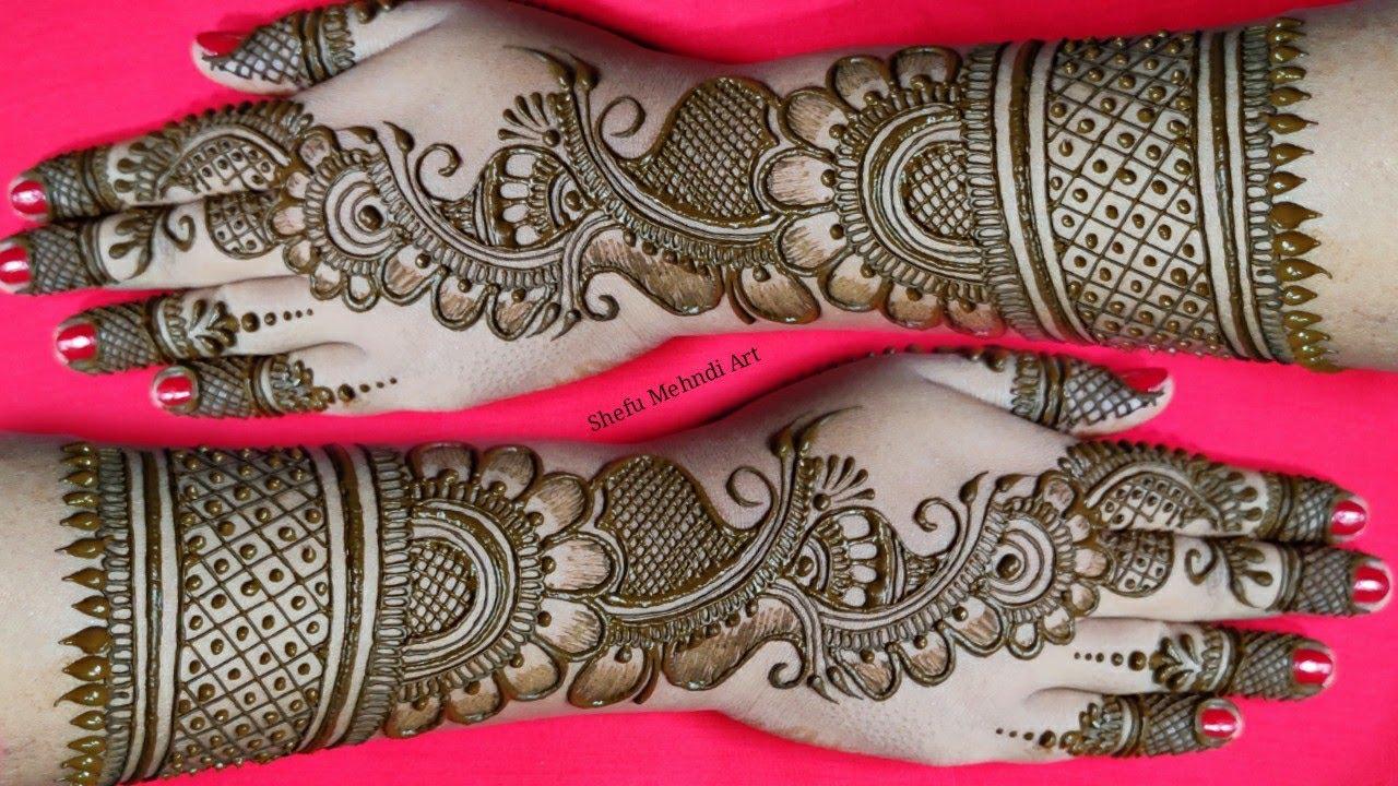 arabic mehndi design full