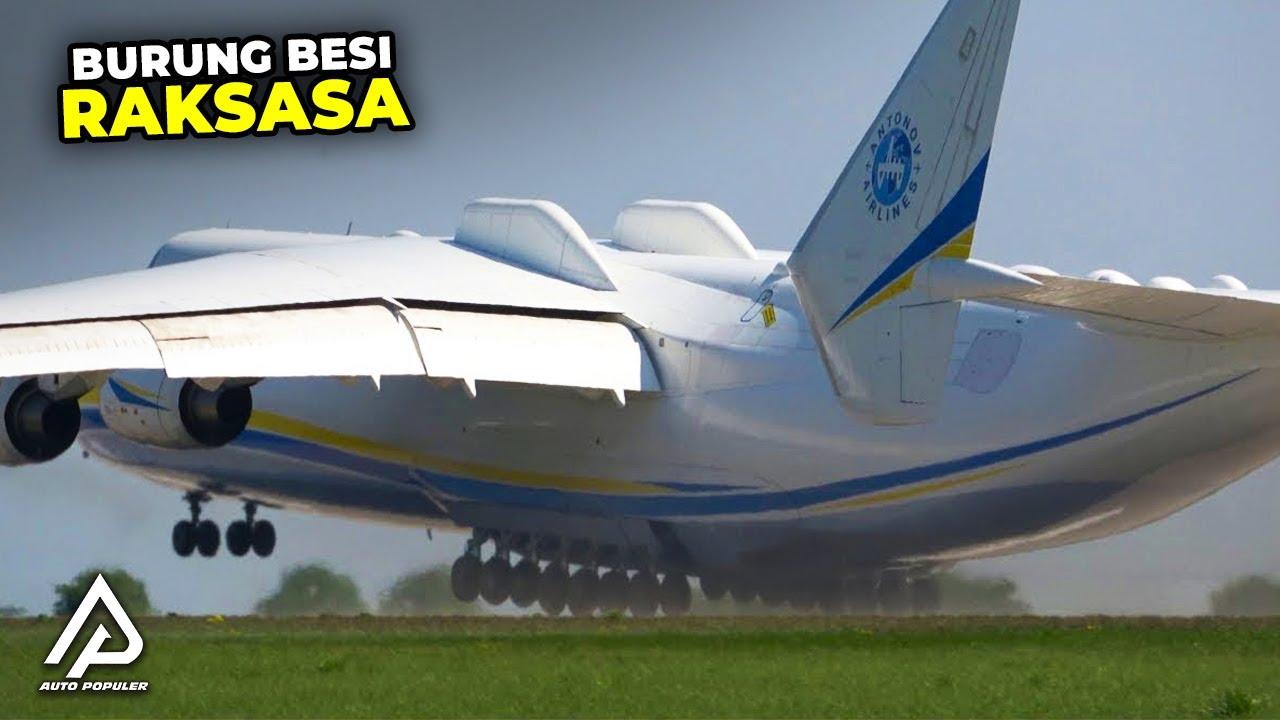 Mampu Mengangkut 1000 PENUMPANG,! Inilah Pesawat Terbesar dan Terpanjang di Dunia